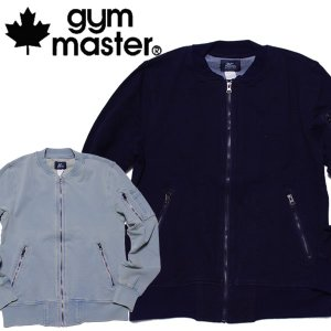 gymmaster ジムマスター ジャケット ニットデニム MA-1|mash-webshop
