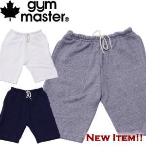 gymmaster ジムマスタースウェットハーフパンツ|mash-webshop