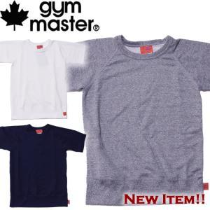 gymmaster ジムマスター ラグラン スウェット 半袖|mash-webshop