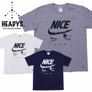 ヘディーズ メンズ Tシャツ HEADYS NICE S/S Tee|mash-webshop
