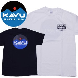 カブー KAVU サークルロゴTシャツ|mash-webshop