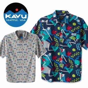 カブー KAVU ショートスリーブシャツ Festaruski フェスタルスキー|mash-webshop
