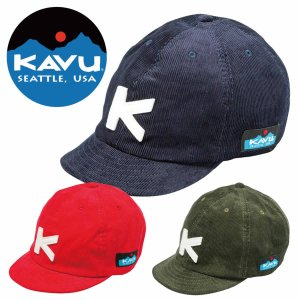 カブー キッズ ベースボールキャップ KAVU K's Cord BaseBall CAP mash-webshop
