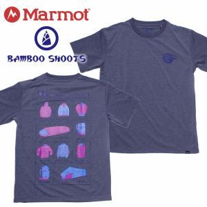 マーモット メンズ Tシャツ Marmot × Bamboo Shoots SHOP TEE|mash-webshop