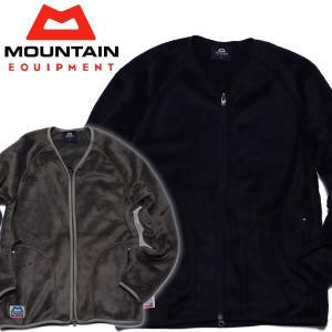 MOUNTAIN EQUIPMENT マウンテンイクイップメント フリースジャケット日本別注モデル フリースカーディガン