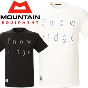 Mountain Equipment マウンテンイクイップメントCotton Tee snow ridgeスノーリッジ|mash-webshop