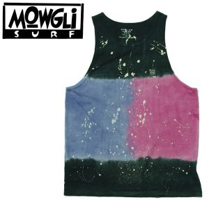 MADE in USA MOWGLI SURF モーグリサーフ Milky Way タンクトップ タイダイ|mash-webshop