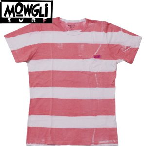 MADE in USA MOWGLI SURF モーグリサーフ Sidewalk Stripes Pocket Tee ポケットTee タイダイ|mash-webshop
