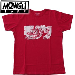 MOWGLI SURF モーグリサーフHANNYA DANGER カタカナロゴTee MADE in USA|mash-webshop