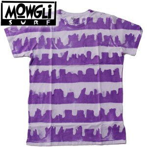 MOWGLI SURF モーグリサーフMESA MAN ボーダーTee タイダイ MADE in USA|mash-webshop