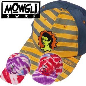 Mowgli Surf モーグリーサーフStrapback Hat ストラップバック キャップタイダイ スナップバック|mash-webshop