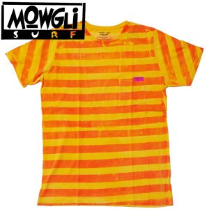 MOWGLI SURF モーグリサーフFUN STRIPES ボーダー Tee タイダイ MADE in USA|mash-webshop