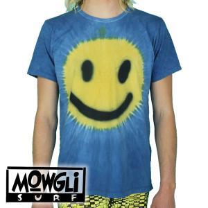 MOWGLI SURF モーグリサーフ スマイル Tシャツ タイダイ|mash-webshop