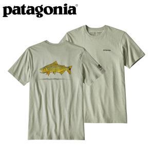 パタゴニア Patagonia メンズ Tシャツ ゴールデンドラドワールドトラウトレスポンシビリティー|mash-webshop
