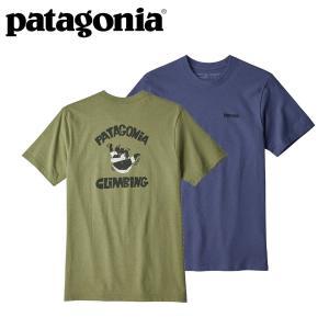 パタゴニア Patagonia メンズ Tシャツ メンズスプリッターシャカレスポンシビリティー|mash-webshop