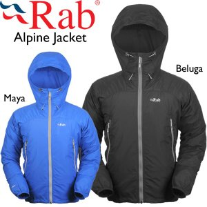 Rab ラブ Alpine Jacket アルパインジャケット ソフトシェル 防風 撥水 軽量|mash-webshop