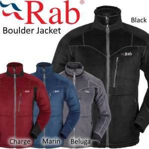 Rab ラブ Boulder Jacket ボルダージャケット フリース ポーラテック|mash-webshop