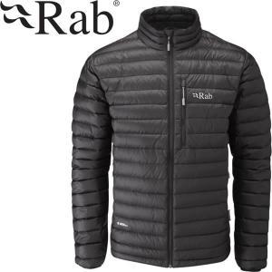 Rab ラブ マイクロライト ジャケット軽量 パッカブル ブラック|mash-webshop