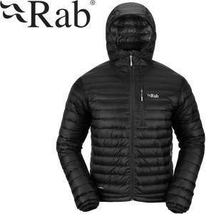 Rab ラブ マイクロライトアルパインジャケット軽量 パッカブル ブラック|mash-webshop