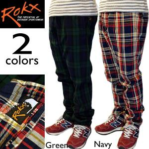 ROKX ロックス BAMBINO PANT バンビーノパンツ チェックパンツ|mash-webshop
