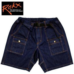 ROKX ロックス DENIM BUSH SHORT デニムブッシュショーツ ハーフパンツ ショートパンツ|mash-webshop
