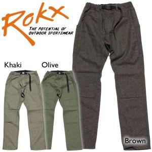 ROKX ロックス ROOT PANT ルートパンツ ウールパンツ ダブルニー 【オススメパンツ】|mash-webshop