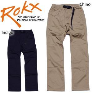 ROKX ロックス ストレッチジッパーパンツ ナローモデル|mash-webshop