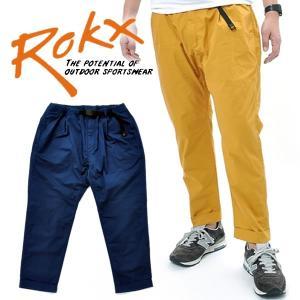 ROKX ロックス 2タック アンクルパンツ|mash-webshop
