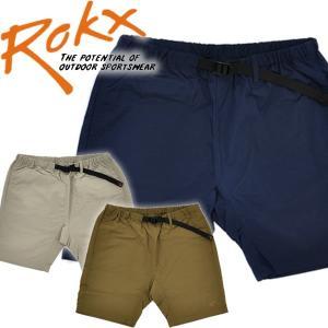 ROKX ロックス トラベルショーツナイロンショーツ mash-webshop