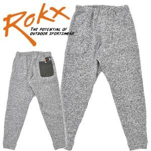 ROKX ロックスGOOSE PANT グース スウェットパンツ フリースパンツ メンズ レディース mash-webshop