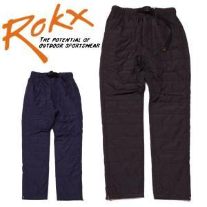 ROKX ロックス インサレイテッドロックスパンツ中綿 タイトシルエット|mash-webshop