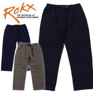 ROKXロックスANKLE PANT アンクルパンツ男女兼用 8分丈 9分丈 クライミングパンツ|mash-webshop