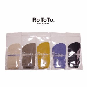 ロトト 靴下 ソックス RoToTo SECRET FIVE FINGER SOCKS