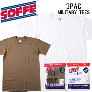 SOFFE (ソフィー)3 Pack Military TeeパックTee 3枚セット2017SS|mash-webshop