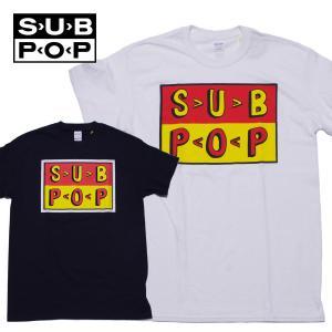 サブポップ Tシャツ SUB POP URGER LOGO Tee|mash-webshop