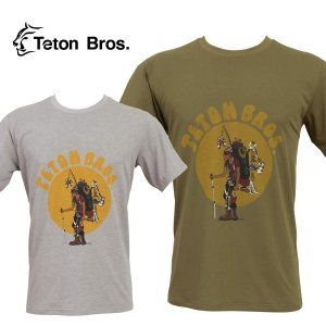ティートンブロス メンズ Tシャツ Teton Bros. TB Hiker 18 Tee|mash-webshop