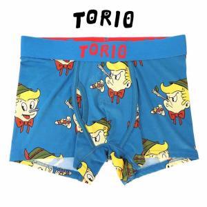 トリオ ボクサーパンツ メンズ レディース 下着 TORIO ピノキオ [No.111760]|mash-webshop