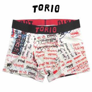 トリオ ボクサーパンツ メンズ レディース 下着 TORIO グラフィティ [No.111800]|mash-webshop