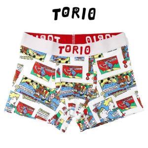 トリオ ボクサーブリーフ ボクサーパンツ TORIO コミック [No.111830]|mash-webshop