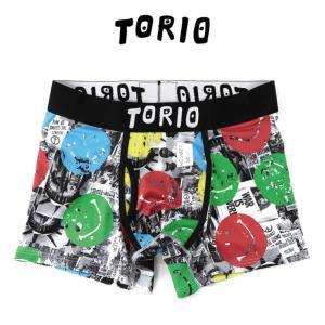 トリオ メンズ ボクサーパンツ ブリーフ TORIO スマイル [No.111890]|mash-webshop