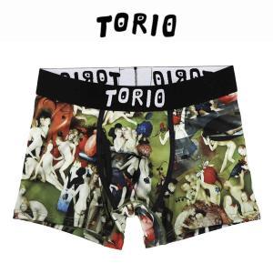 トリオ メンズ ボクサーパンツ ブリーフ TORIO 快楽の園 [No.111910]|mash-webshop