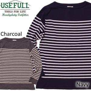 USEFULL ユースフル バスクニット カットソー バスクシャツ|mash-webshop