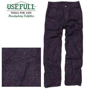 USEFULL ユースフル Jacquard Denim Trouser ジャガードデニムトラウザー デニムパンツ ジーンズ 総柄|mash-webshop