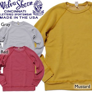 MADE in USA Velva Sheen ヴェルヴァシーン Yellow Label