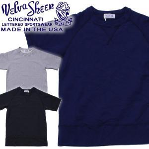 Velva Sheen ヴェルバシーン 8oz S/S RAGLAN SWEAT Made in USA vintage ヴィンテージ 半袖スウェット|mash-webshop