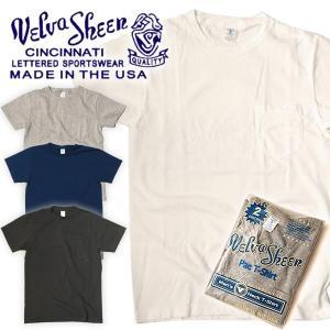 Velva Sheen ベルバシーン ヴェルバシーン Tシャツ 2パック クルーネック ポケット付き|mash-webshop