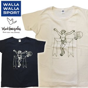 ワラワラスポーツ マークゴンザレス Tシャツ BASIC CREW TEE|mash-webshop