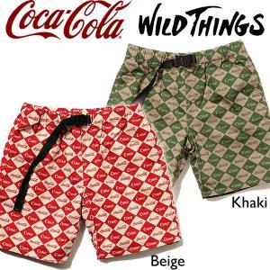 Wild Things ワイルドシングスコカコーラ クライミング ショーツ ダイア ハーフパンツ|mash-webshop