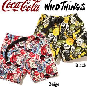 Wild Things ワイルドシングス コカコーラ クライミング ショーツ カートゥーンズ ハーフパンツ|mash-webshop