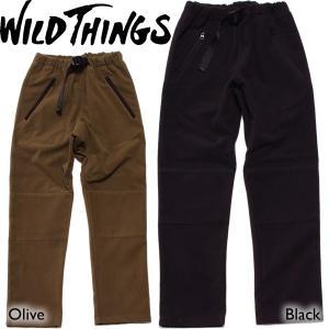 WILD THINGS ワイルドシングス MICRO FLEECE PANT マイクロフリースパンツ|mash-webshop